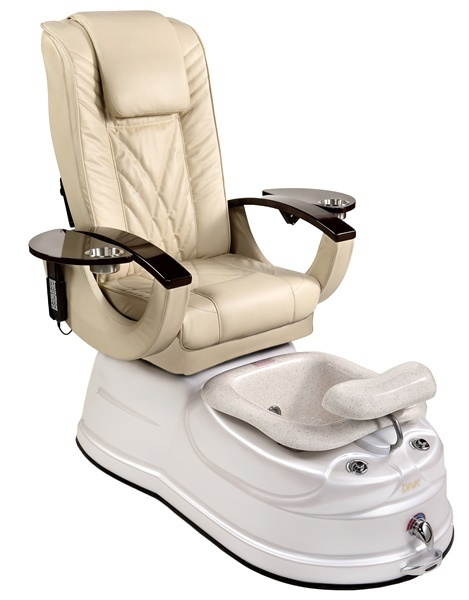 una pedicure spa chair